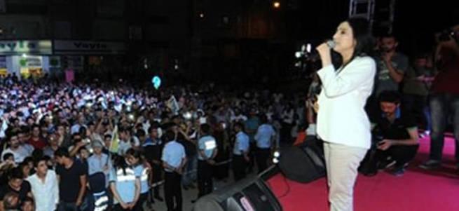 HDP'li Figen Yüksekdağ Öcalan'a özgürlük istedi