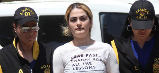 Kocasını öldüren Çilem'in tişörtündeki ilginç mesaj