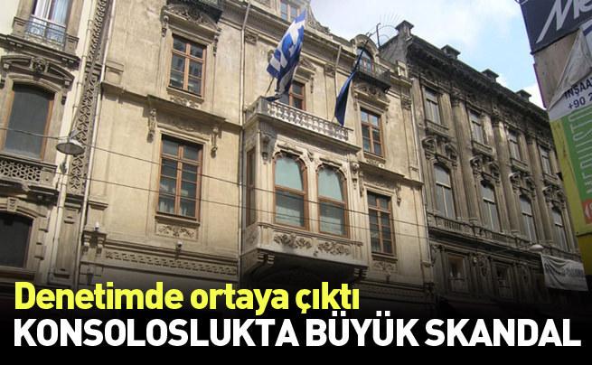 Yunanistan Başkonsolosluğu'nda skandal ortaya çıktı
