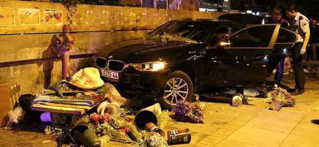 Bağdat Caddesi'nde feci kaza
