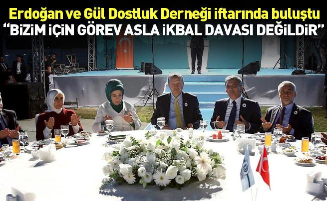 Cumhurbaşkanı Erdoğan: Bizim için görev asla İkbal kavgası değildir