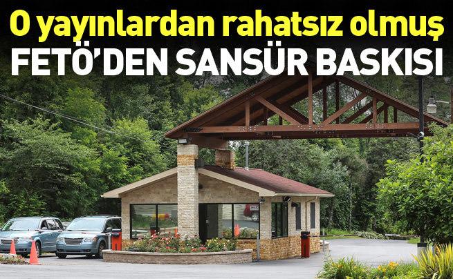Fetullah Gülen'den Anadolu Ajansı'na sansür baskısı
