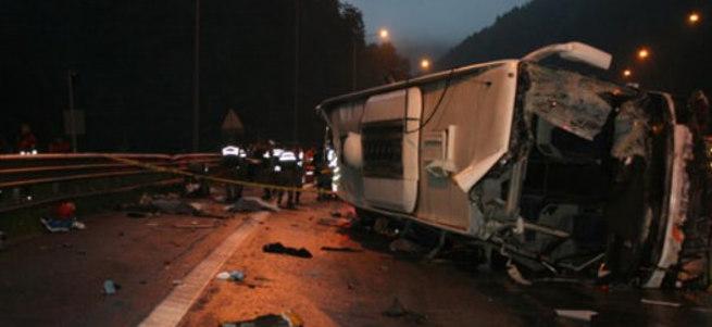 Paralel örgüt otobüs kazasını fırsata çevirme derdinde!