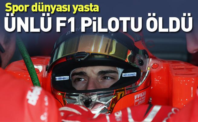 Jules Bianchi yaşam mücadelesini kaybetti