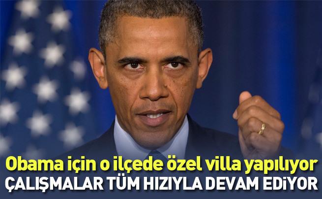 Obama için Antalya'ya özel villa