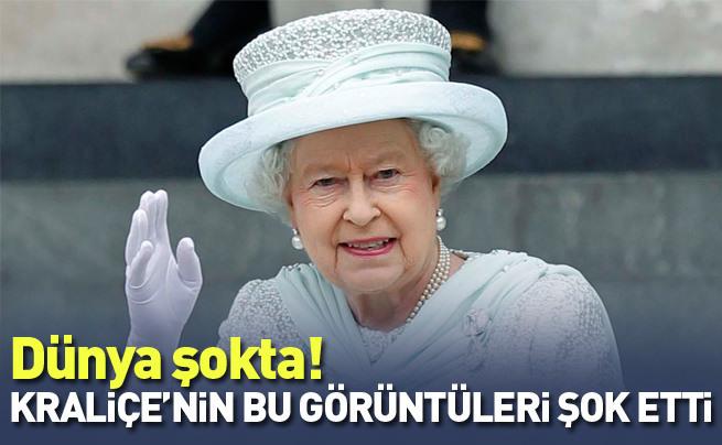 İngiltere Kraliçesi'nden skandal Nazi selamı