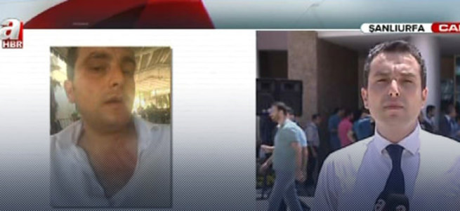 A Haber'e Suruç'ta çirkin saldırı