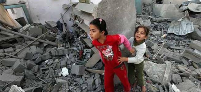 İsrail'in Gazze saldırılarının birinci yılı