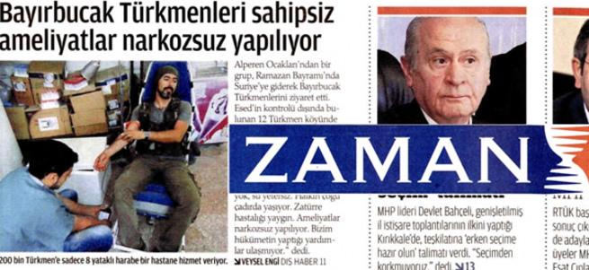 Paralel'in Bayırbucak Türkmenleri yüzsüzlüğü