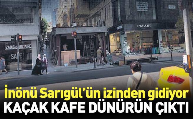 Skandal Şişli'ye sıçradı: Dünür-kondu kafe