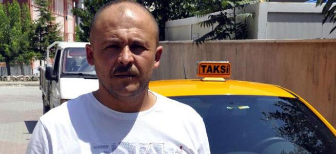 Taksi şoförü dolandırıcı gelini yakaladı