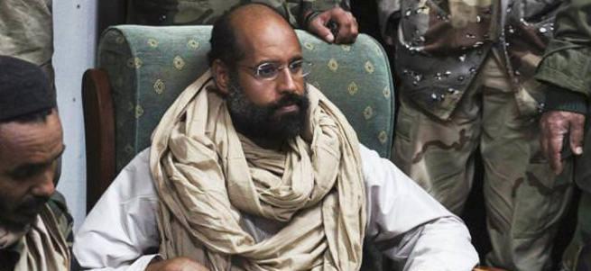 Kaddafi'nin oğlu idam cezasına çarptırıldı