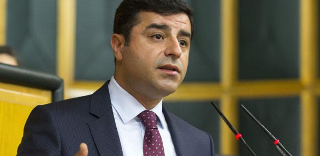 HDP Eş Genel Başkanı Selahattin Demirtaş hakkında fezleke
