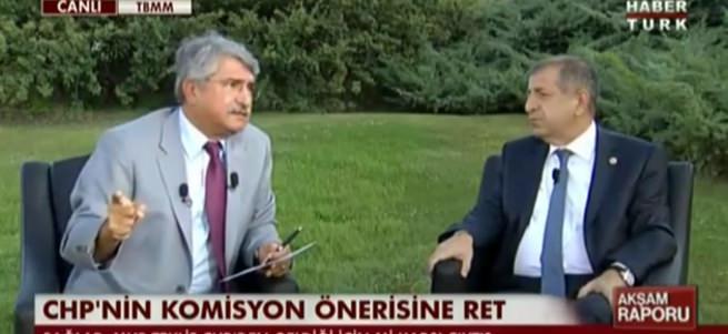 CHP'li ve MHP'li vekillerden canlı yayında sert tartışma
