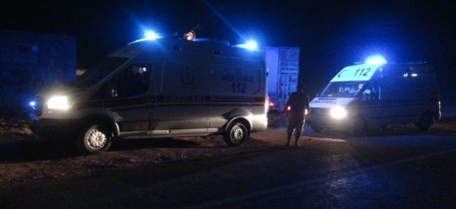 Freni patlayan minibüs devrildi: 12 yaralı