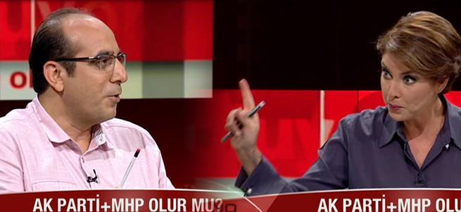 Rıza Saka ile Şirin Payzın arasında MHP tartışması