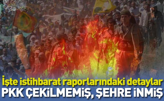 PKK çekilmek yerine şehre inmiş ve silahlanmış