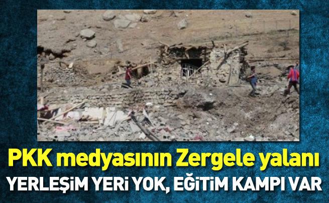 PKK'nın haber ajansından Zergele yalanı