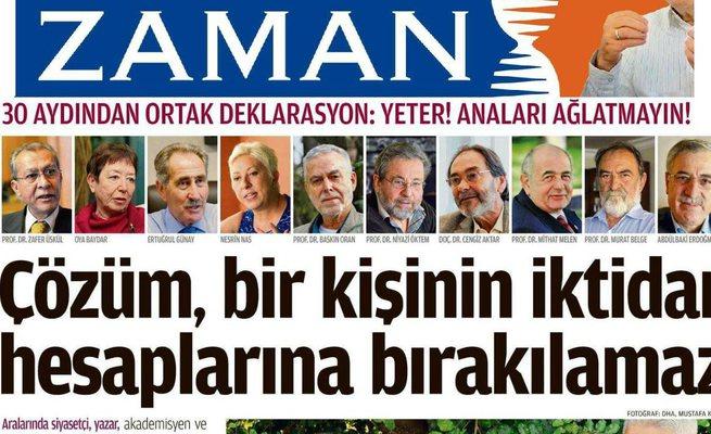 FETÖ'nün Aydınlarından(!) PKK ağzıyla deklerasyon