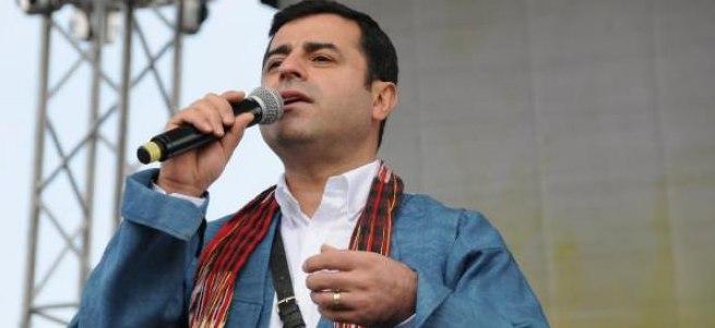 HDP: Demirtaş PKK için kirli demedi