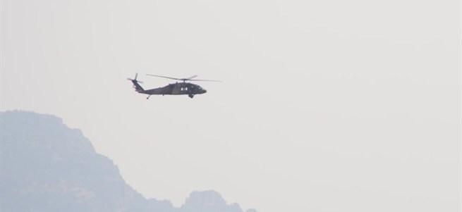 Askeri helikoptere saldırı: 1 şehit