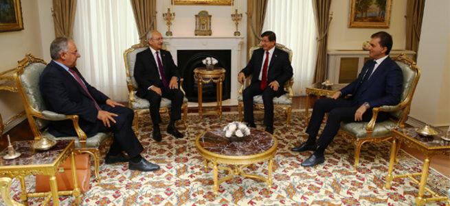 Davutoğlu ve Kılıçdaroğlu hafta içinde yeniden bir araya gelecek