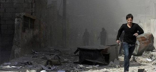 Suriye'de pazar yerine hava saldırısı