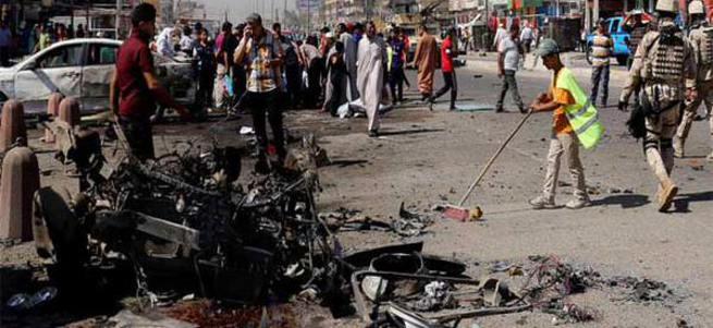 Bağdat'ta bombalı saldırı: 60 ölü