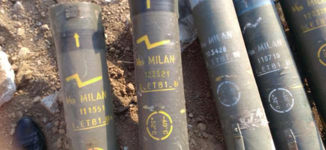 PKK roketinde Alman izi