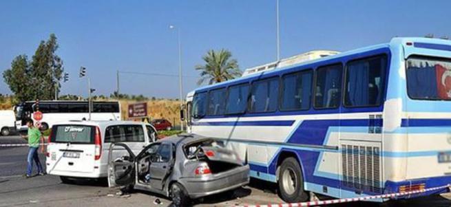Antalya'da korkunç kaza: 5 ölü