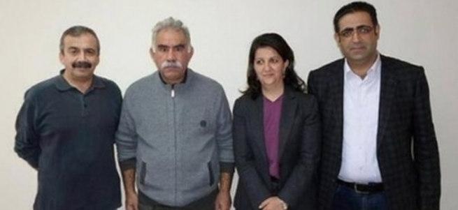 HDP'ye Öcalan şoku!