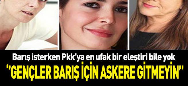 Sanatçılar barış isterken PKK'yı eleştiremedi