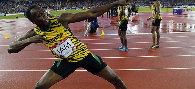 Usain Bolt yine dünya şampiyonu!