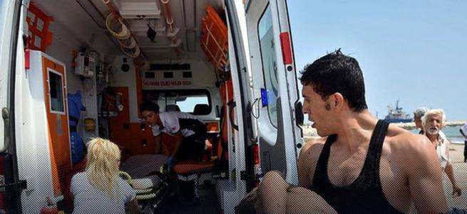Denize giren 2 çocuk boğuldu