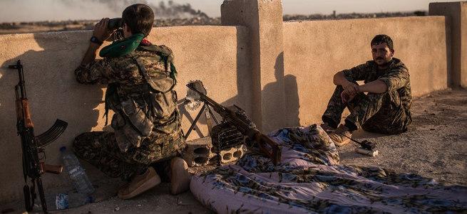 Suriye'de güvenli bölge için polis gücü eğitimi başladı