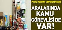 PKK'ya malzeme taşıyan 3 kişiye gözaltı
