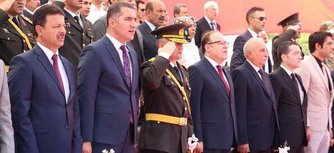 Siirt Valisi'nden törene katılmayan HDP'li başkana tepki