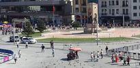 Taksim'de şüpheli çanta alarmı!