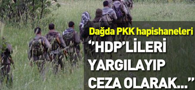 PKK'nın dağ hapishanesi