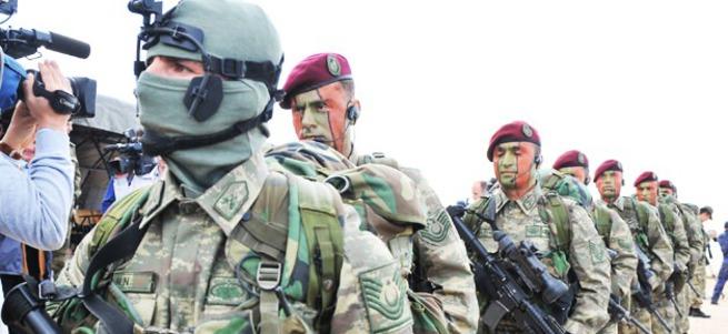 Bordo Bereliler PKK'yı vurdu İngiliz korktu