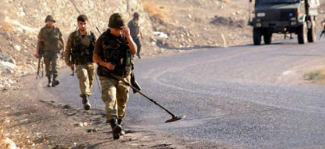 Emniyet, PKK'nın mayın haritasının peşine düştü