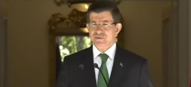 Davutoğlu: Dün ve bugün Kuzey Irak'ı vurduk