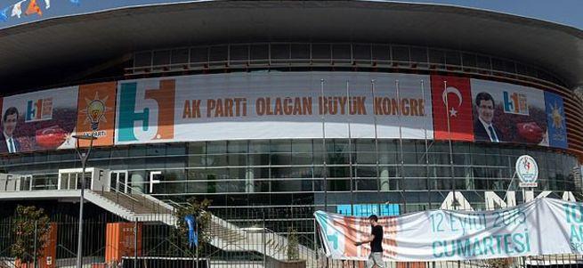 AK Parti 5. Olağan kongresi başladı