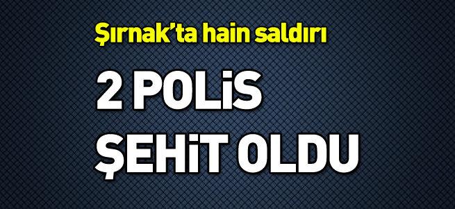 Şırnak'ta polise saldırı