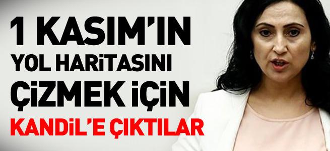 HDP heyeti Kandil'e çıktı