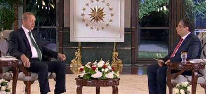 Erdoğan: Demirtaş hayatında eline Türk bayrağı almamış
