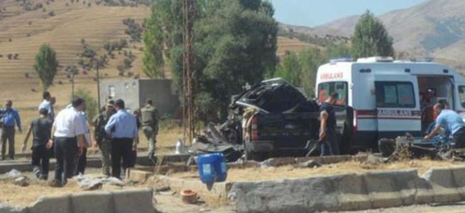 Muş'ta ki trafik kazasında 1 polis daha şehit oldu
