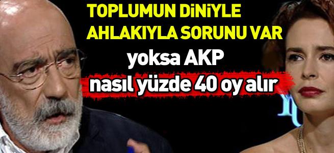 Ahmet Altan AK Parti'ye oy verenlere ahlaksız dedi