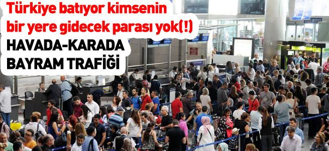 Atatürk Havalimanı doldu taştı