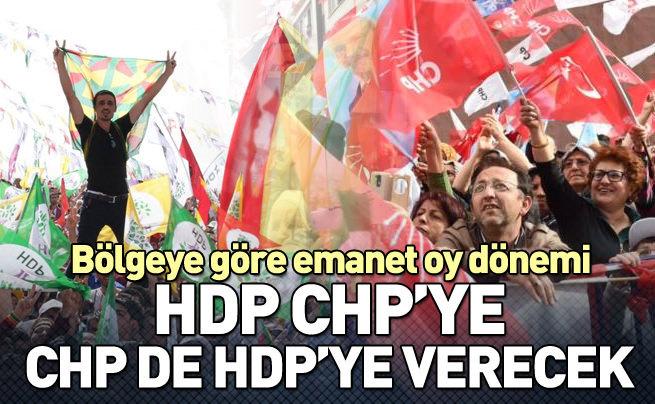 CHP emanet oy hesabı yapıyor